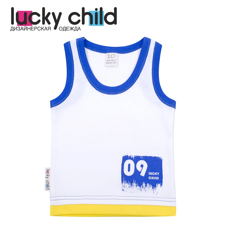 Tanks & Camisoles Lucky Child for boys 19-251 (24M-3T) Underwear Kids Baby T shirt Children clothes promotion 6pcs bedding sets baby cot bedclothes bed children underwear include bumpers sheet pillow cover