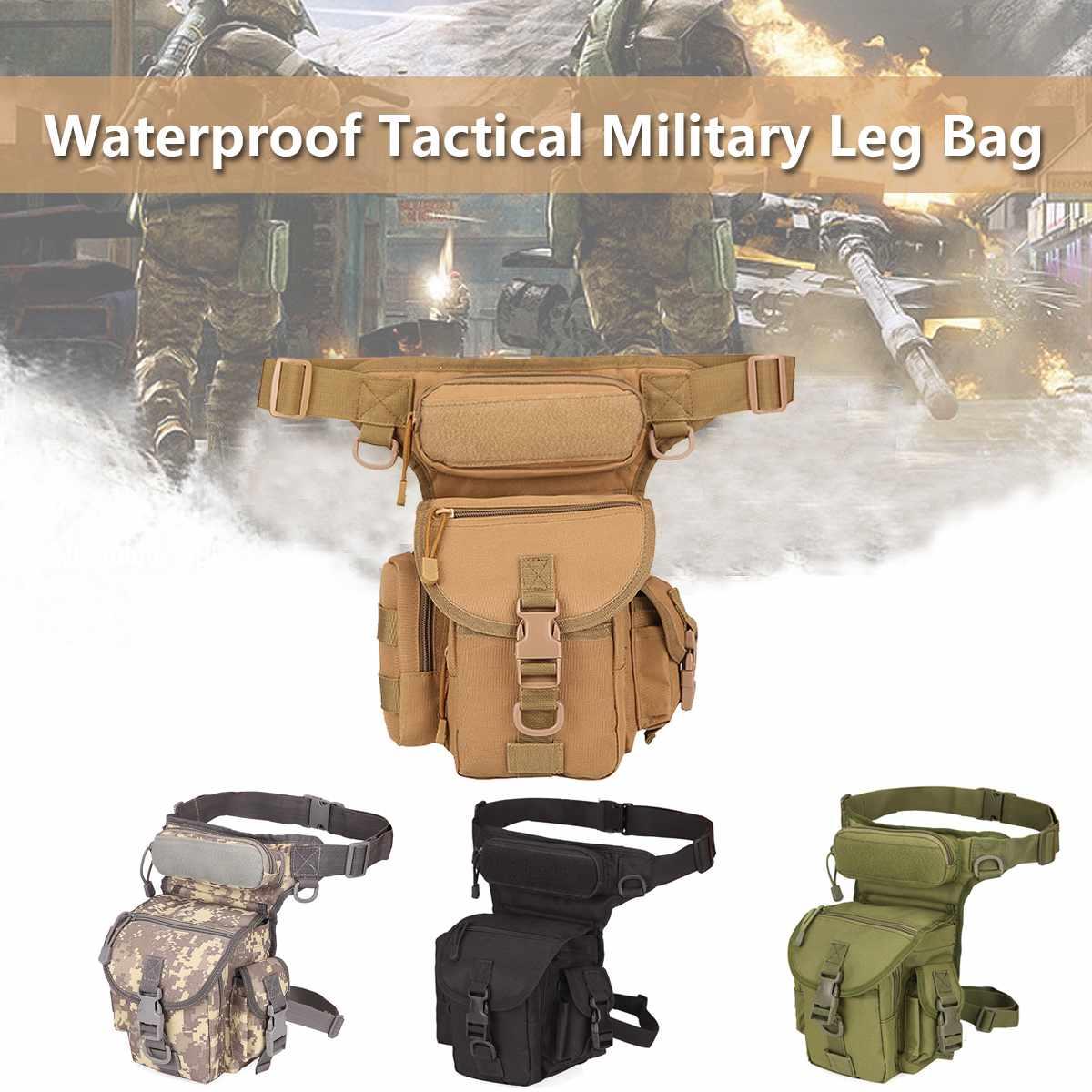 NEW Tactical Waist Bag Drop Leg Bags Tool Camping Hiking Trekking Military Shoulder Saddle Oxford Cloth Multi-function Pack