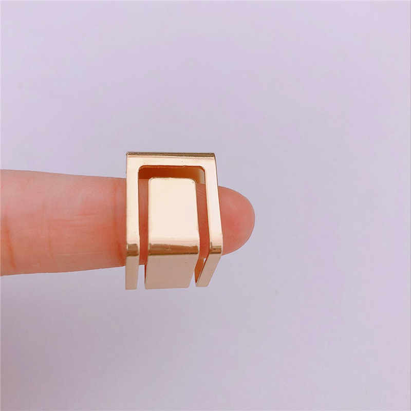 Punk Adjustable Geometris Cincin untuk Pria Perhiasan Perak Cincin Wanita Cincin Pasangan Janji Pernikahan Cincin Wanita Hadiah