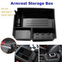 ABS центральный хранимый спутник подлокотник контейнер декоративная коробка чехол для Kia Sportage R 2010 2011 2012 2013 2014