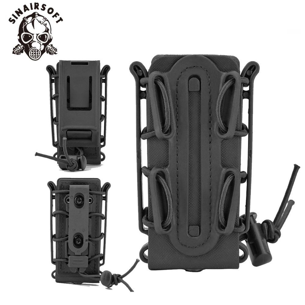 9mm Pistol Mag Handgun Magazine Pouch Tactical Fastmag Soft Shell Mag Carrier