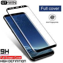 GTWIN Screen Protector For Samsung Galaxy S8 S9 S10 Plus S10 Lite Note 9 Tempered Glass Film Full Curved Cover Protective Film