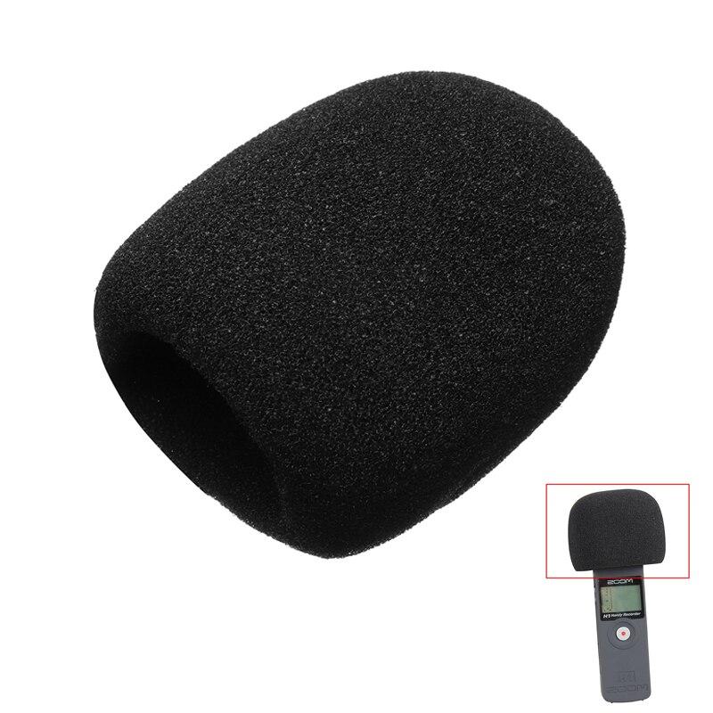 Windscreen Microphone Sponge Windproof Mic Cover Foam Filter For ZOOM H1 H 1 H-1 Handy Recorder Windshield Pops Filter Screen