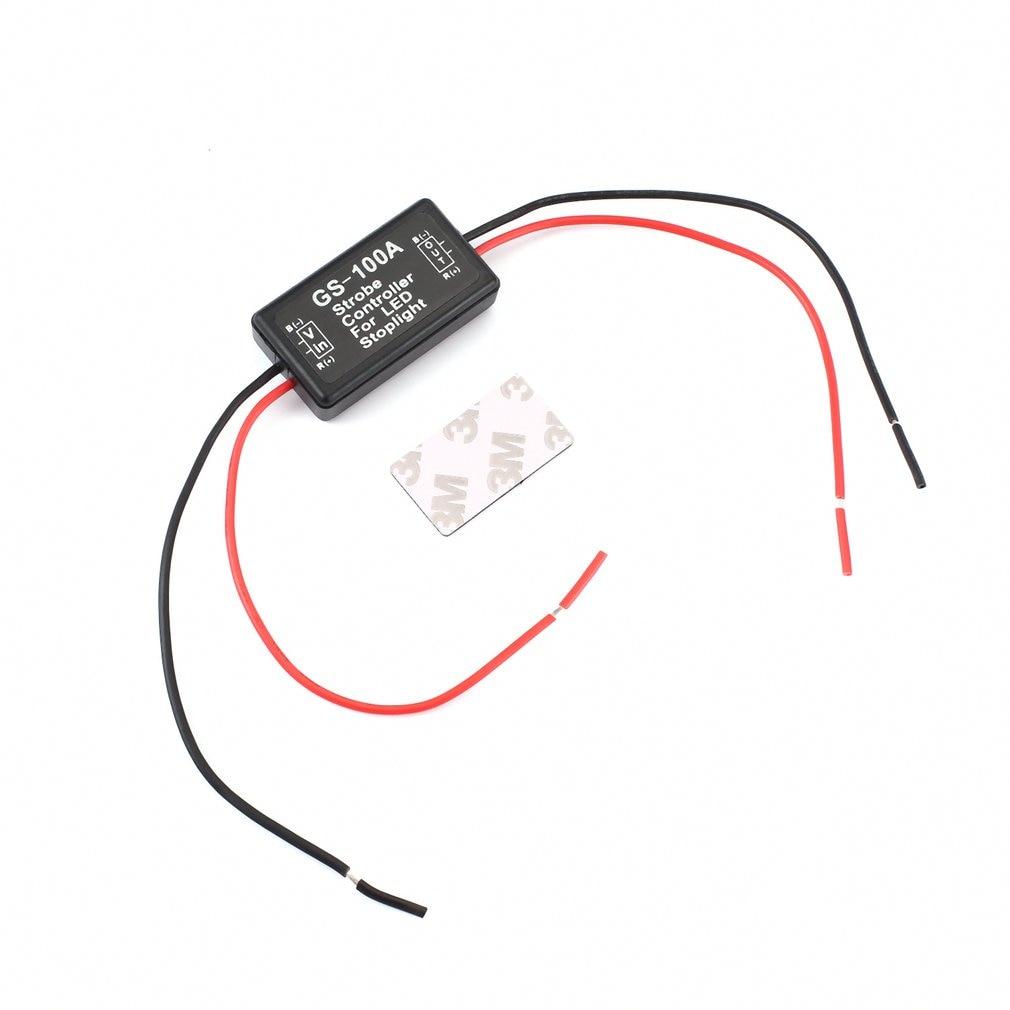 Intelligent LED high position brake light controller