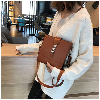 Luxury Women Messenger Bags Designer Woman Bag 2019 Brand PU Leather Shoulder Bags Ladies Tote Handbag Crossbody Bag sac a main Сумка