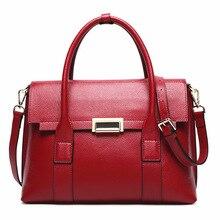 Women Totes Bag Female Patent Genuine Leather Women Bags Mobile Messenger Shoulder Bags Luxury Brand Ladies Handbag Bolsa Femini