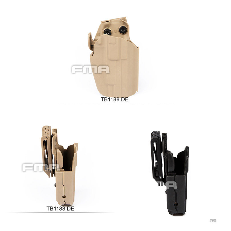Tactical TMC New 2018 Version Belt System Mount 0305 Kydex Holster for G17  G18C G19 BK/DE Free Shipping