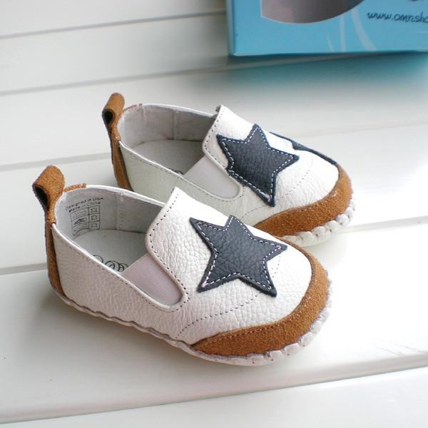 90a290b50 OMN marca 0 2 años bebé niños zapatos de ocio de cuero genuino en primer  lugar los caminantes antideslizante Niño Zapatos niños zapatos zapatos en  Primeros ...