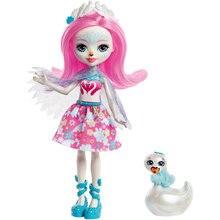Мини-кукла Enchantimals Любимая зверюшка Саффи Свен и Саффи