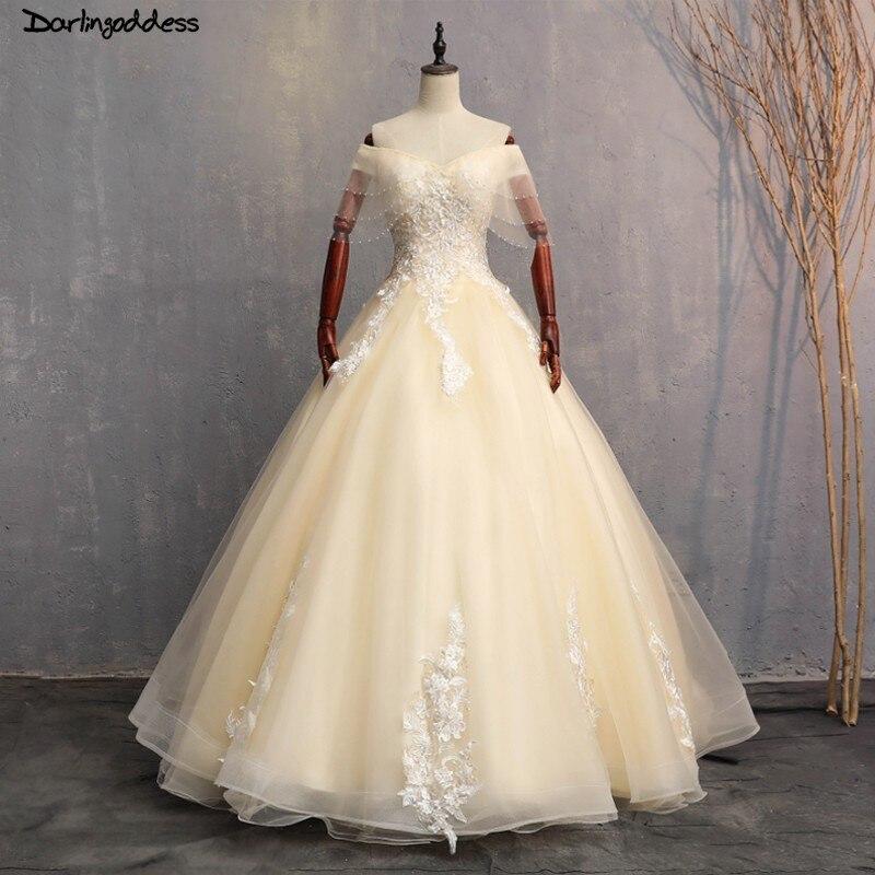 c8b45431e9d1ec0 Шампанское Бальные платья 2018 сладкий 16 Платья для 15 лет кружевное бальное  платье Бальные платья выпускные