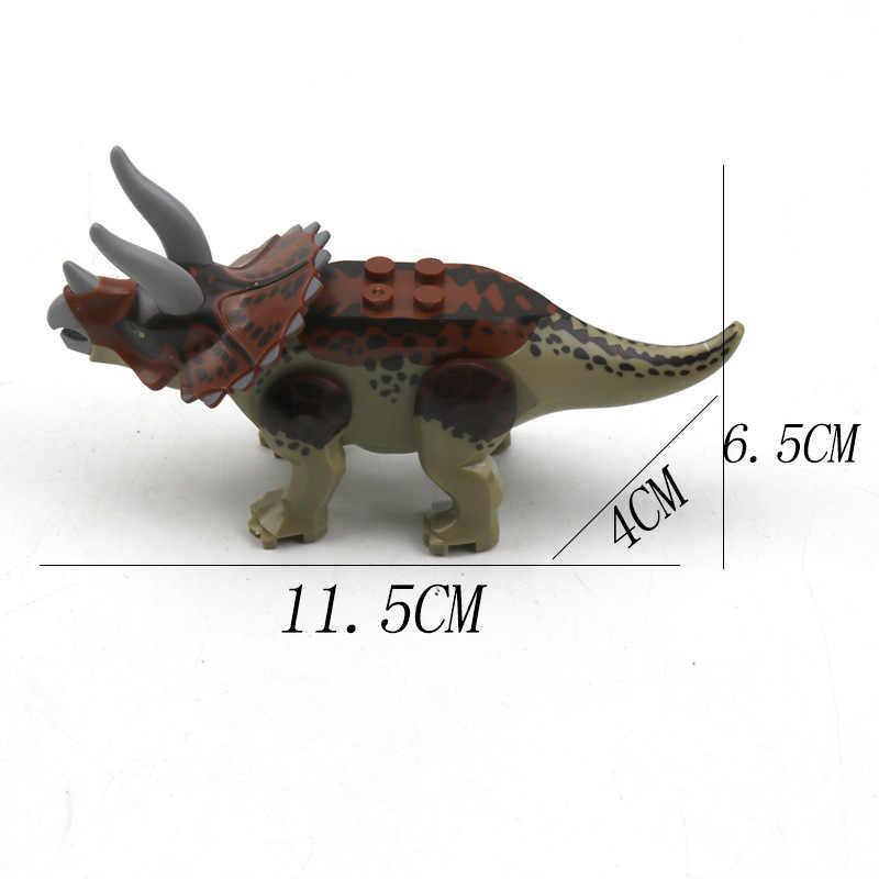 1 חתיכה דינוזאור צעצוע פלסטיק לשחק צעצועי קטן טירנוזאורוס/בלוקים דגם דמויות פעולה דמויות מתנה הטובה ביותר 12 סגנונות אקראי לשלוח
