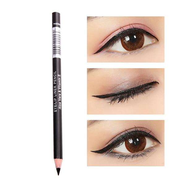 Waterproof Black Eyeliner Pencil Eye Liner Makeup Tool Cosmetic Pen  OA66