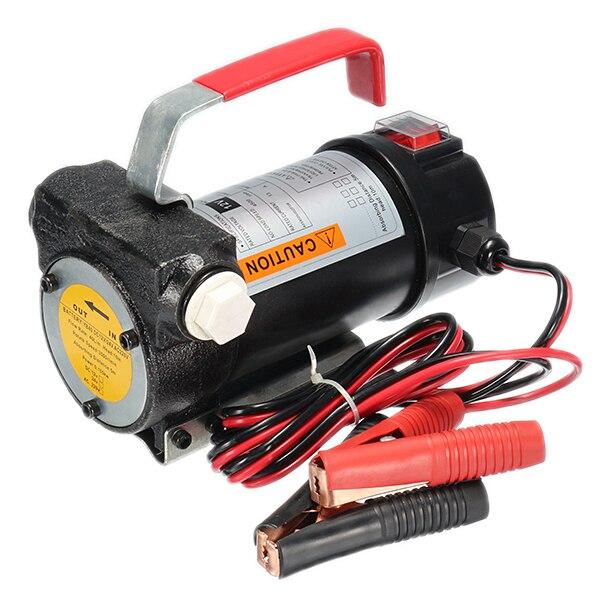 Pompe à mazout électrique de voiture 12 V petite à bord 40L/min DC électrique D iesel pompe avec épisseuse et filtre transfert de carburant automatique