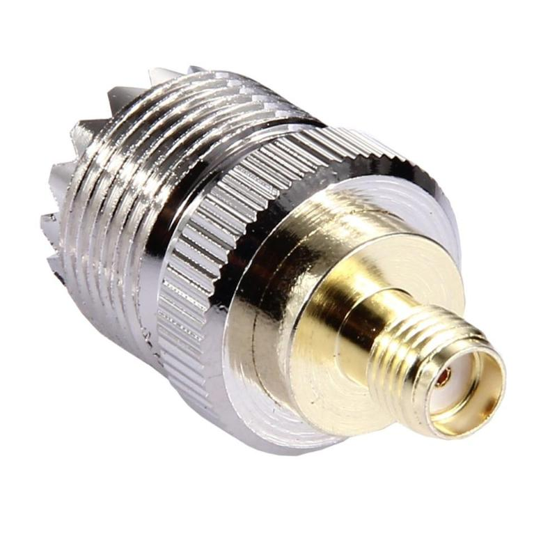 SO239 SL16 SMA Female To UHF Female RF Coaxial Connector RF Coax Coaxial Cable Adapter Plug