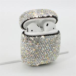 Image 3 - Caso Fones De Ouvido Bluetooth Inovador Fones de Strass Capa Shell protetora Dust proof Impermeável Saco De Luxo Para A Apple Airpods