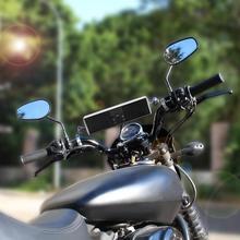 Водонепроницаемый Bluetooth аудио звуковая система для мотоцикла светодиодный дисплей приложение управление MP3/TF/USB FM Радио стерео колонки