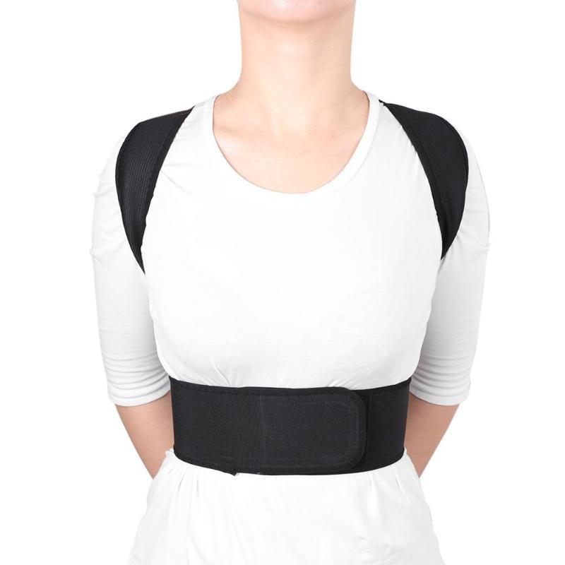 Adjustable Humpback Correction Belt Rectify Back Posture Corrector Brace Adult Children Posture Brace Shoulder Back Support   posture correction belt