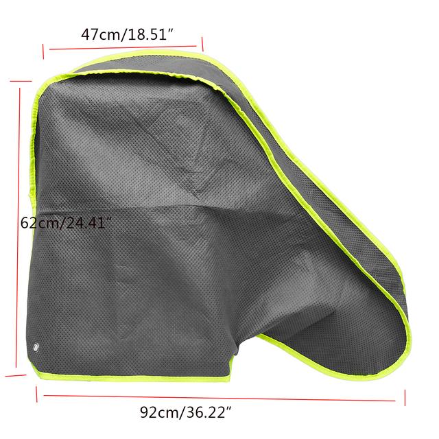 92*47*62cm impermeable remolque enganche bloqueo cubierta a prueba de polvo para camión RV