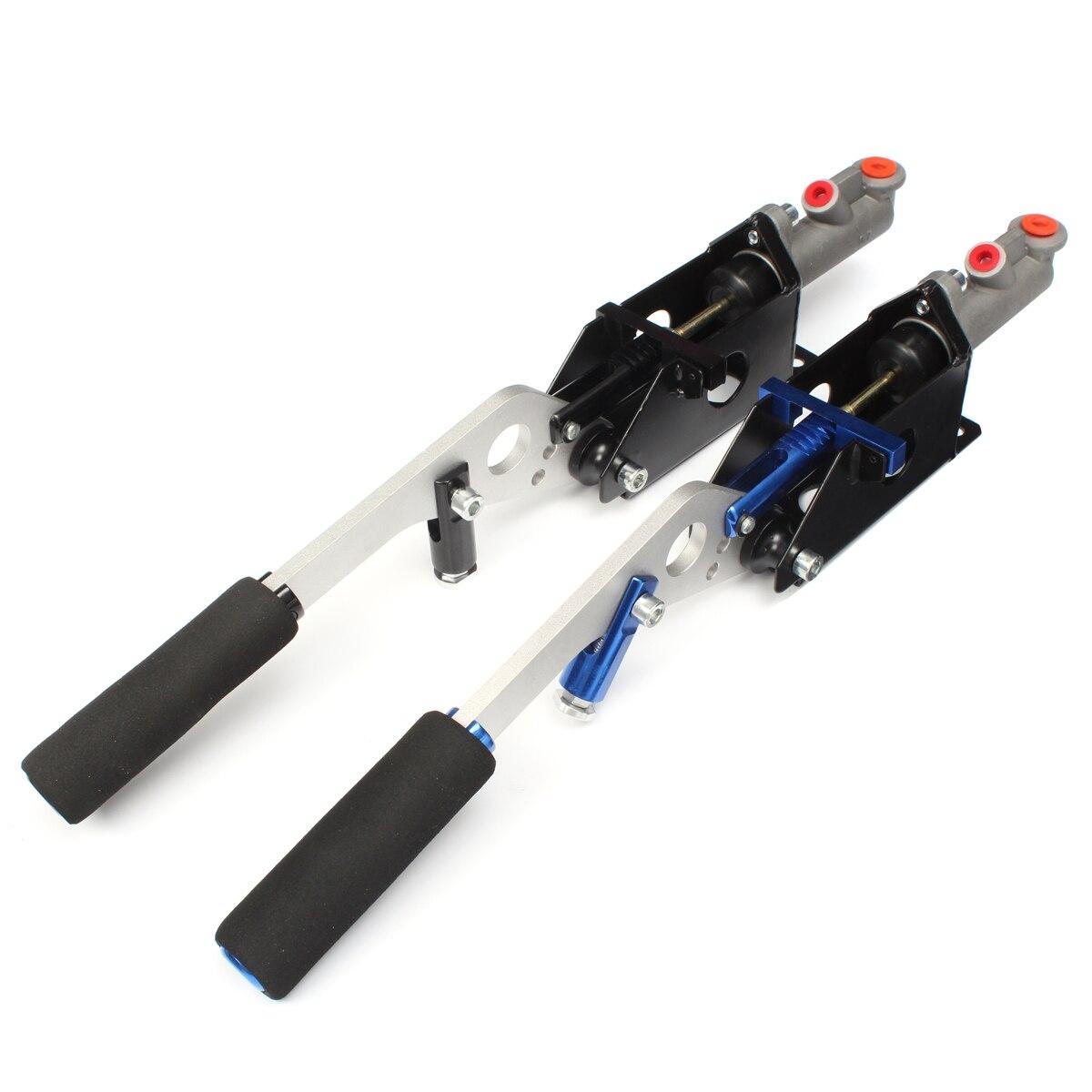 Accessoires auto universel hydraulique Horizontal course dérive frein à main main E frein Parking frein levier - 3