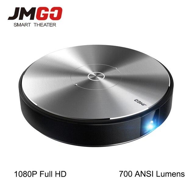 JMGO N7L 1920*1080P Full HD DLP Projector 700 ANSI Lumens Smart Beamer Android WIFI HDMI USB Support 4K Video LED TV JMGO G7