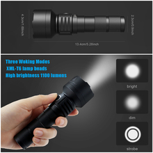 BRILEX Flash Light LED Tactical Flashlight Lanterns Lanternas UV Torcia Led Torch Tazer Defense