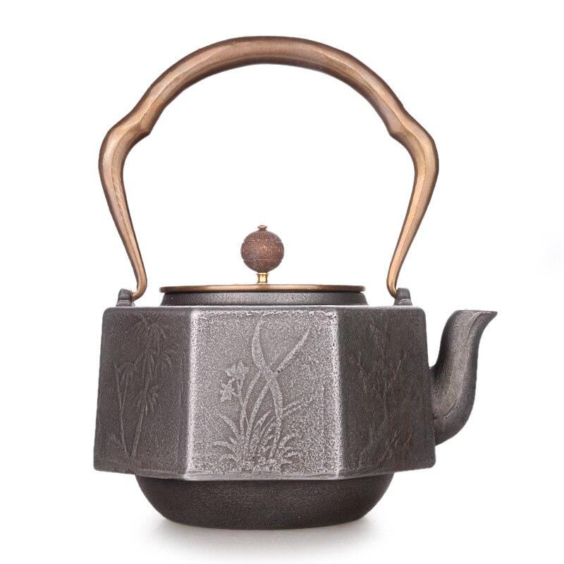 Handmade Octagonal Teakettle 1200ml