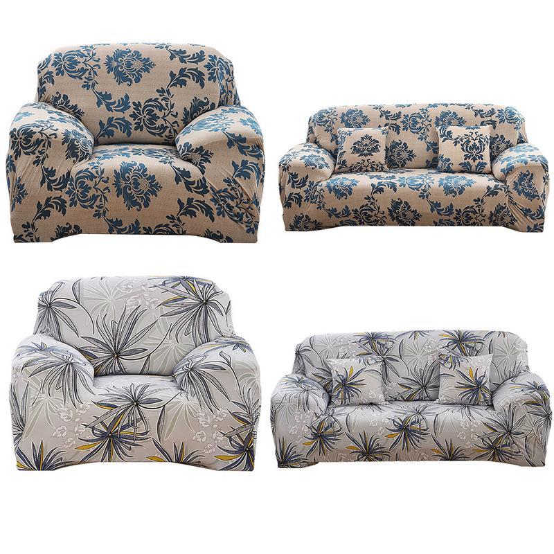 US $11.5 43% OFF New European Style Elastic Sofa Cover All Cover Nonslip  Leather Sofa Towel Slipcover Set For Four Seasons Sofa Cushion Cover-in  Sofa ...