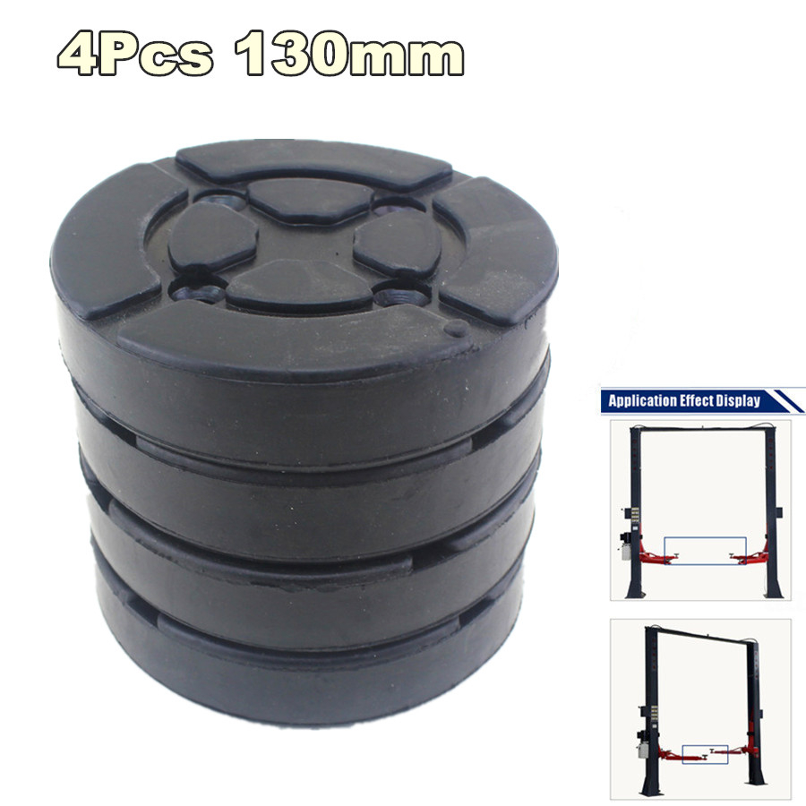 4x Heavy Duty Square Ox Tendon Rubber Arm Pads Lift Pad For Car Lift Wonderful
