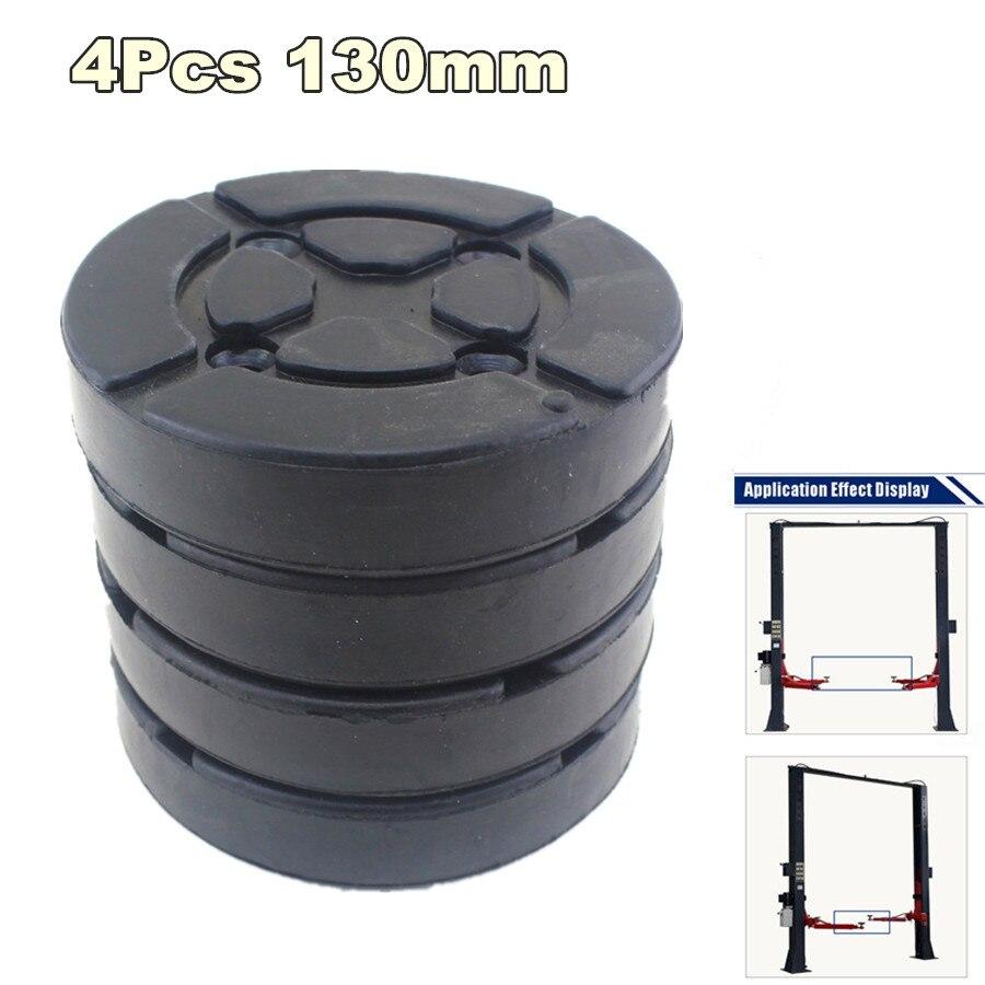 4 pçs/lote universal round 130mm almofadas de braço de borracha almofada de elevador almofada de braço de borracha apto para elevador automático carro caminhão grua