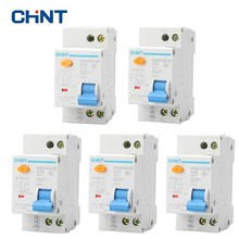 CHNT 1P+N Household Small Air Switch Double Line Breaker DPN In Out Circuit DZ267LE-32 10A 16A 20A 25A 32A