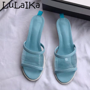 LuLaIKa 2019 Woman Sexy Beach Lady Indoor Outdoor Slippers