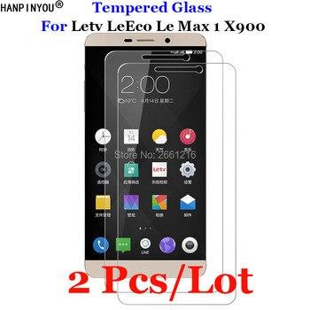 """2 sztuk/partia dla Letv Le Max 1 szkło hartowane 9 H 2.5D Premium folia ochronna na ekran do Letv LeEco Le max 1 jeden Max1 X900 6.33"""""""