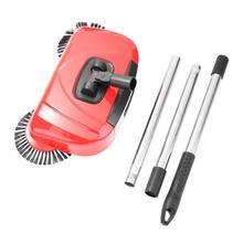 2 in 1 Stainless Steel Sweeping Machine Push Type Magic Broo