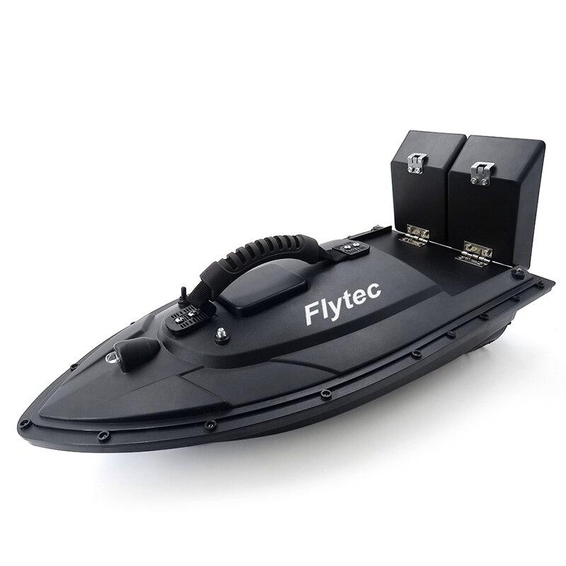 Flytec 2011-5 outil de pêche Smart RC appât bateau jouet double moteur détecteur de poisson bateau de pêche télécommande bateau de pêche KIT Version