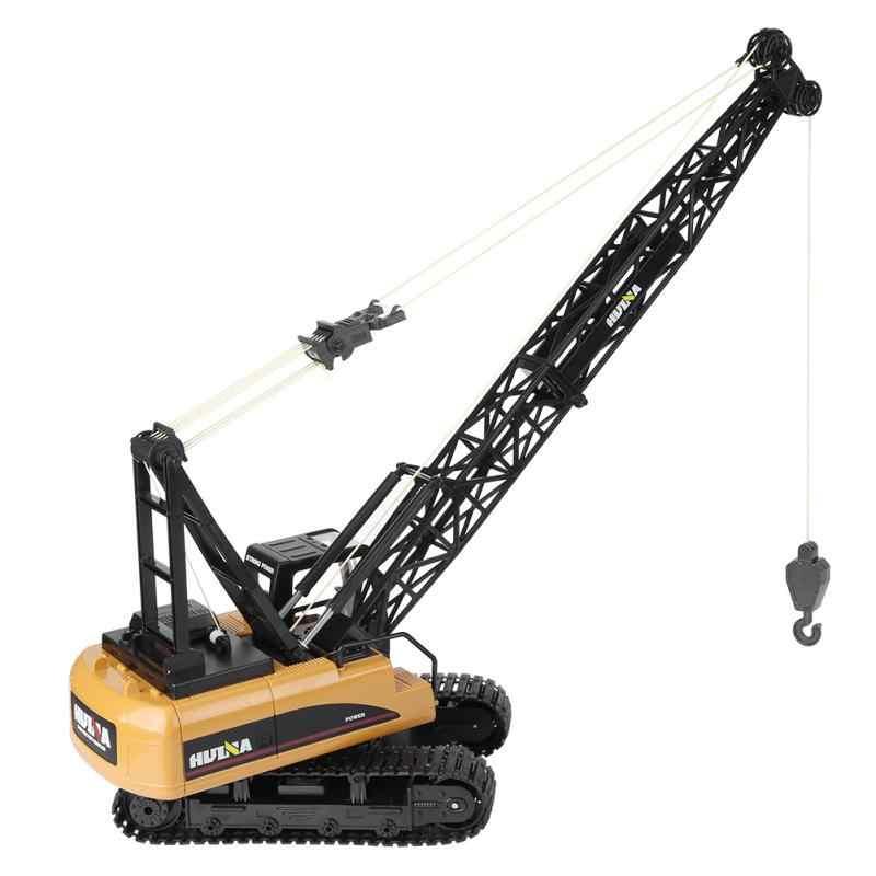 HUINA 1572 грузовые автомобили игрушки 2,4 ГГц 1/14 15CH Радиоуправляемый кран инженерный грузовик металлический пульт дистанционного управления модель кран автомобиль игрушки для мальчика подарок