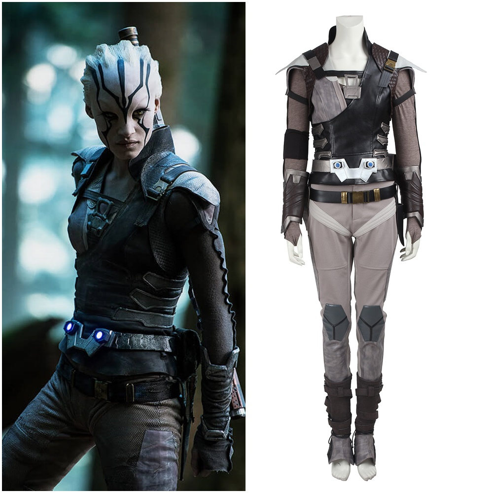 Star Trek Beyond Jaylah Cosplay Costume Women Halloween Outfit