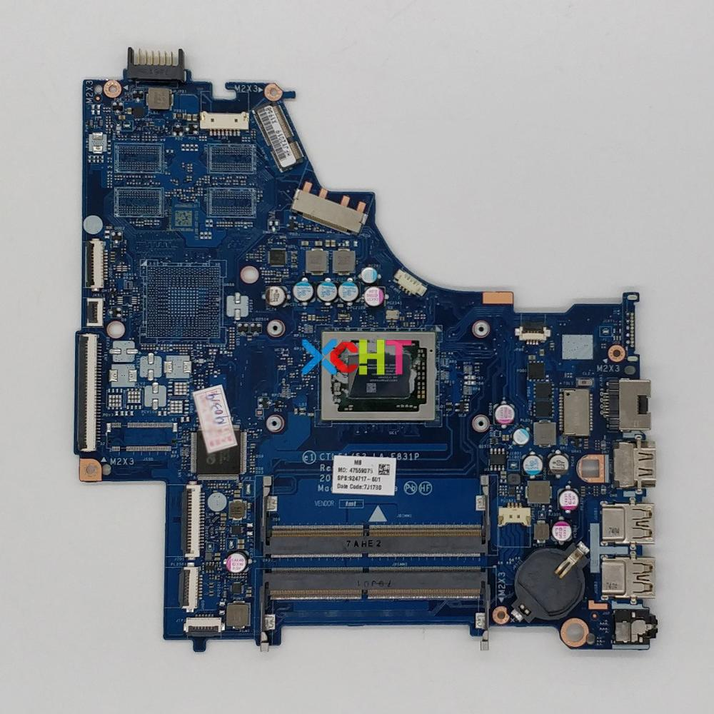 XCHT for HP 15 15-BW Series 924717-601 924717-001 A12-9720P CTL51/CTL53 LA-E831P Laptop Motherboard Mainboard TestedXCHT for HP 15 15-BW Series 924717-601 924717-001 A12-9720P CTL51/CTL53 LA-E831P Laptop Motherboard Mainboard Tested