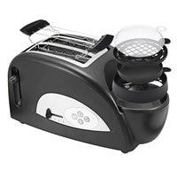 Multifunctional 220V Stainless Steel 2 Slices Bread Toaster Electric Egg Cooker Breakfast Maker Household Kitchen Oven Machine