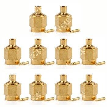 Areyour shop venta 10 piezas conector SMA macho enchufe soldadura RG402 0.141