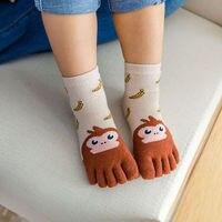 Носочки «5 пальцев» с мордашками животных #3