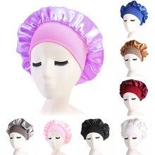 1 шт. мягкая гладкая шапка для сна с широкими полями высокоэластичная повязка на голову с ночной шапочкой головные уборы для ухода за волосами