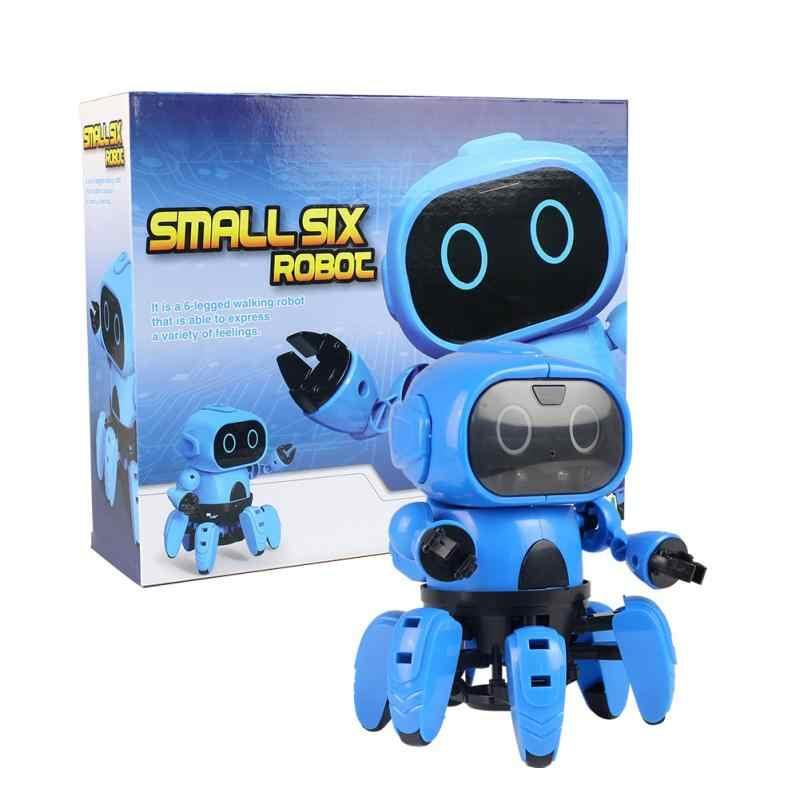 Интеллектуальный индукционный робот DIY Собранный Электрический следящий робот с датчиком жестов Предотвращение препятствий детские развивающие игрушки