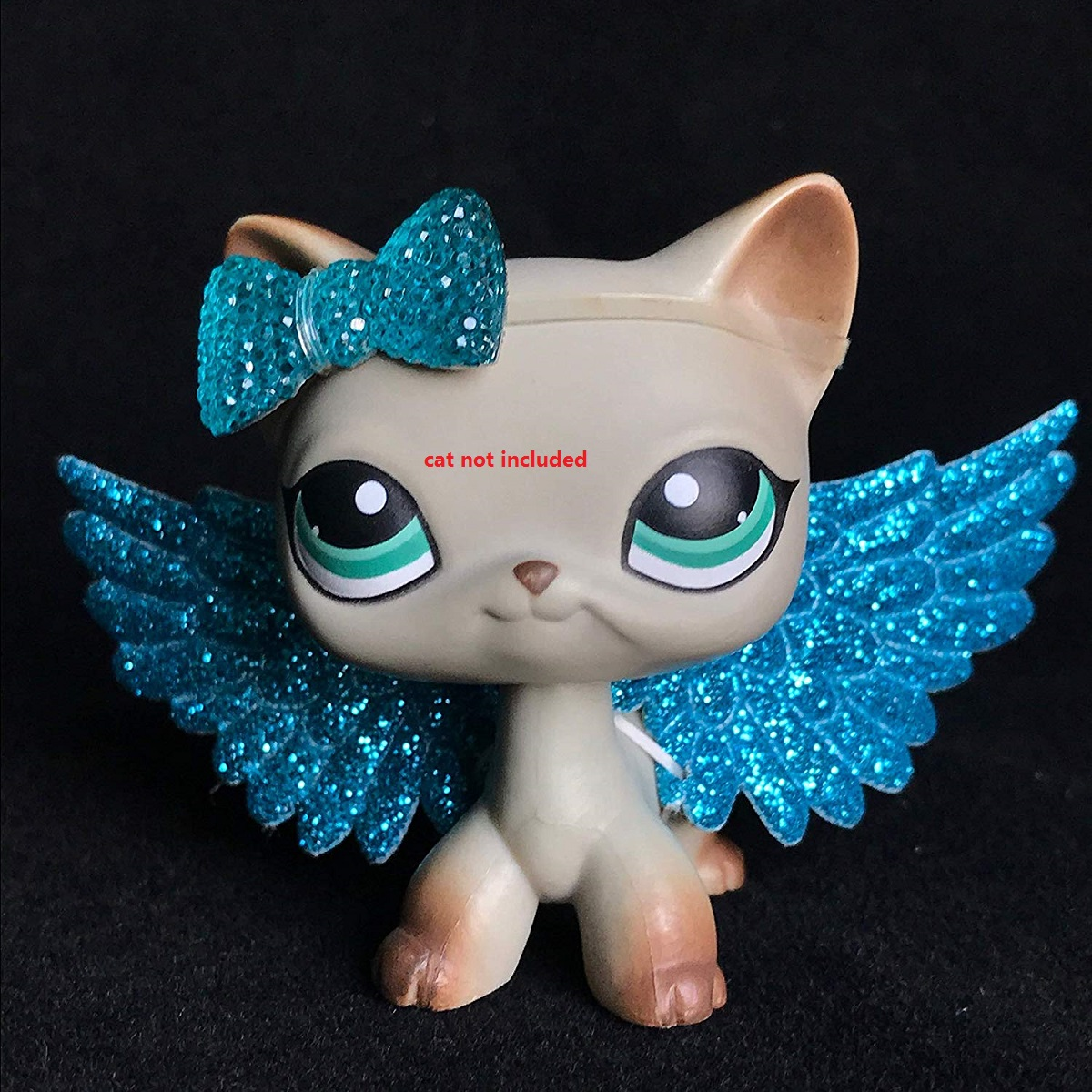 Cartoon Animals Accessories Bow Wings 2 Piece (cat Not Included)
