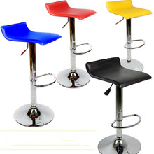 PU 大耐荷重 を卸売価格シンプルなファッションバーの椅子スイベルバースツール椅子高さ調節可能な