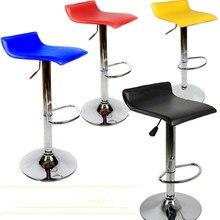 лучшая цена The wholesale price simple fashion bar chair swivel bar stools chairs height adjustable PU large load-bearing
