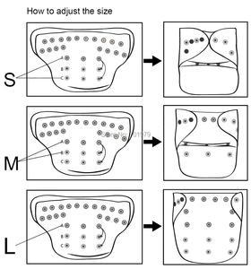 Image 3 - (10 peças/lote) alva um tamanho se encaixa toda a fralda do bebê do bolso com inserção de microfibra