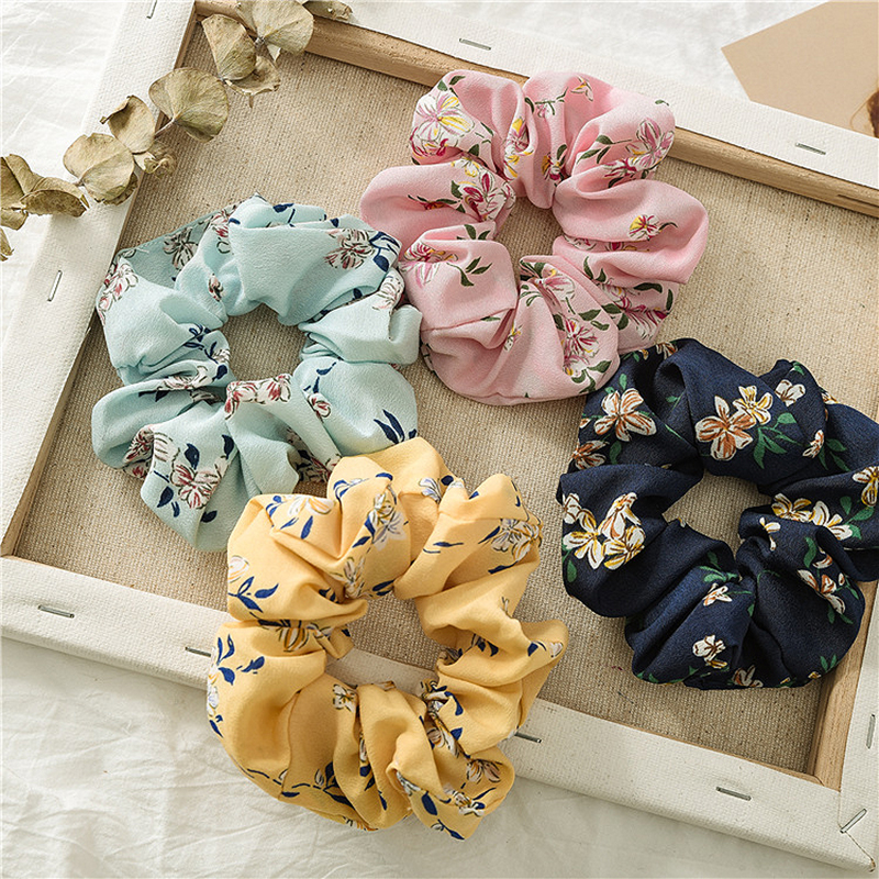 2019 Women Rubber Bands Tiara Satin Ribbon Bow Hair Band Rope Scrunchie Ponytail Holder Elastic Gum For Hair Accessories