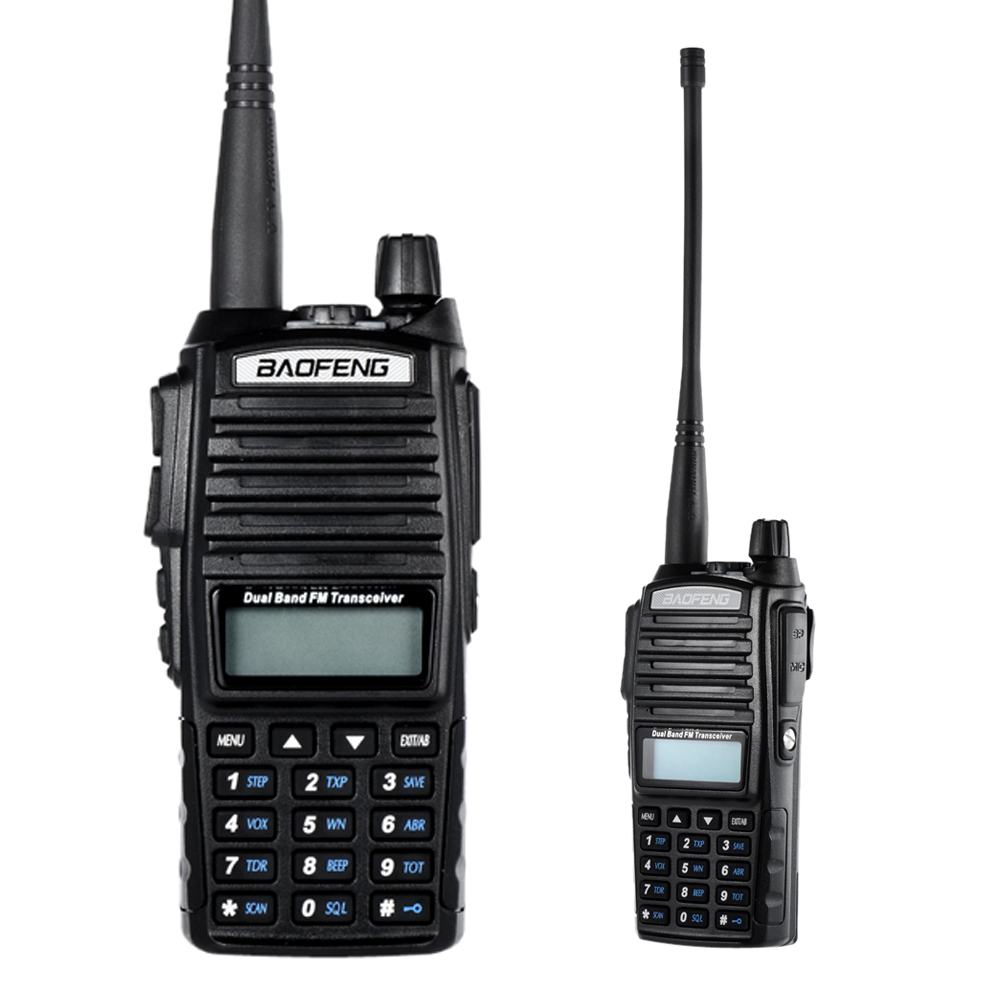 Walkie Talkie Precise Baofeng Uv-82 Vhf/uhf Dual Band Handheld Transceiver Interphone 128 Memory Channels Battery Save Led Flashlight Walkie Talkie Relieving Rheumatism And Cold