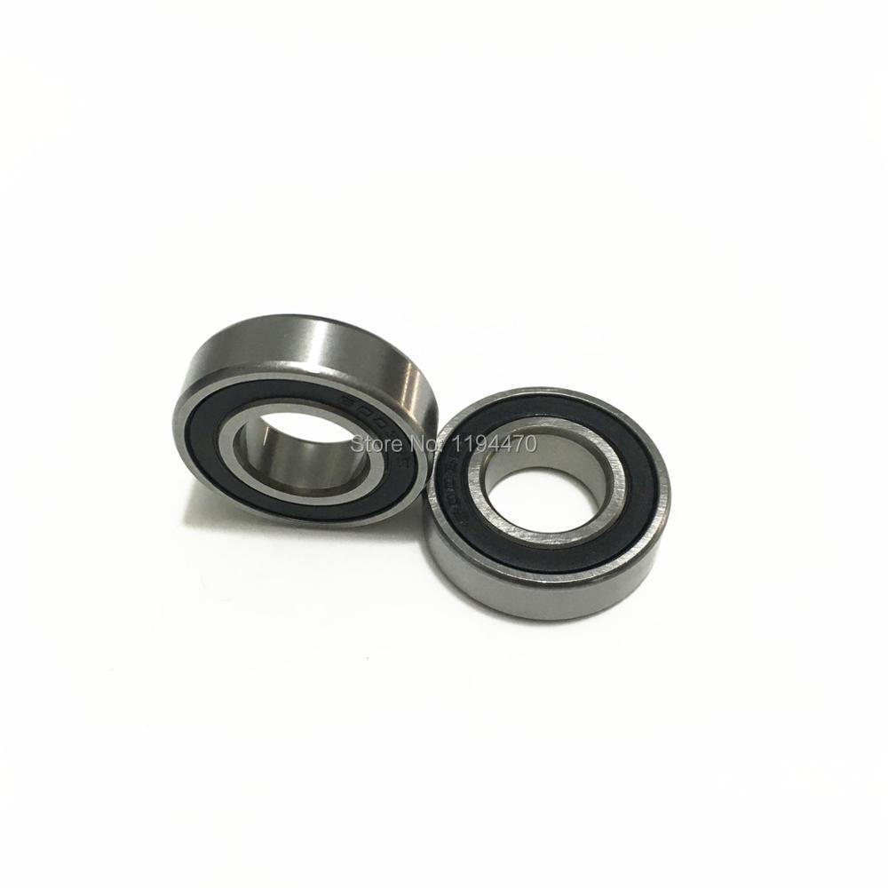20pcs <font><b>6902</b></font>-2RS 6902RS <font><b>6902</b></font> <font><b>RS</b></font> 2RS 15x28x7mm Rubber Sealed Deep Groove Ball Bearing Miniature Bearing image