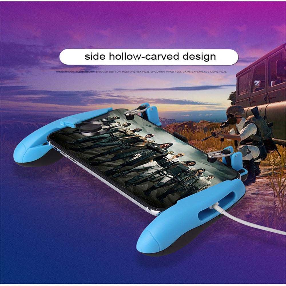 Image 3 - Z8 Mobile Controller Stretchable Gamepad Joystick PUBG Game Fire Button Aim Key L1R1 Shooter Trigger with Phone Holder-in Replacement Parts & Accessories from Consumer Electronics